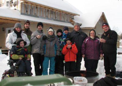 Domaine Kaaloo - Plaisir hivernale en famille